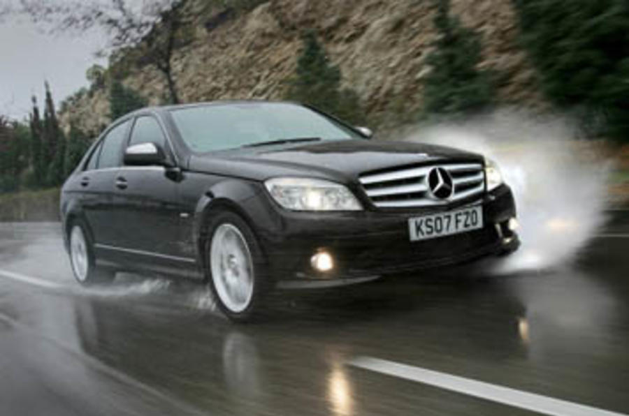 mercedes benz c 280 sport review autocar. Black Bedroom Furniture Sets. Home Design Ideas