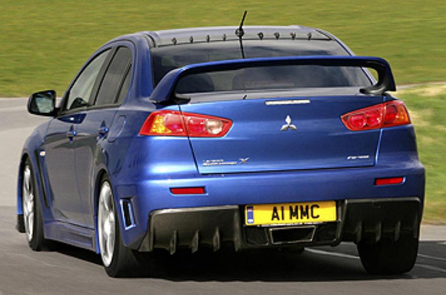 Evo X Mr >> Mitsubishi Evo FQ-400 review | Autocar