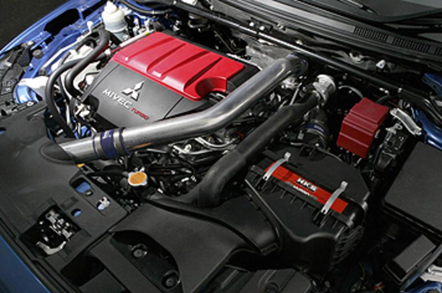 Mitsubishi Evo FQ-400