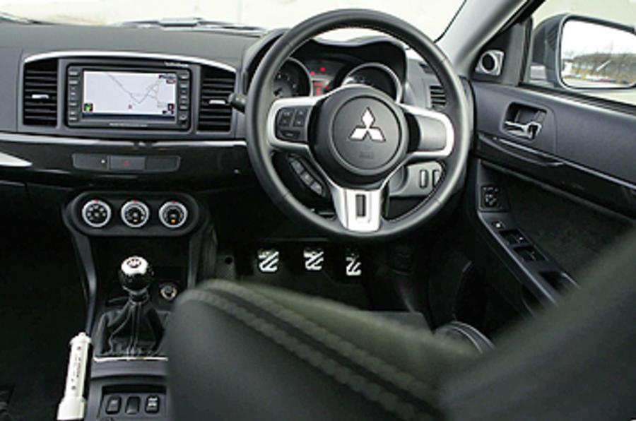 Mitsubishi Evo FQ400 review  Autocar