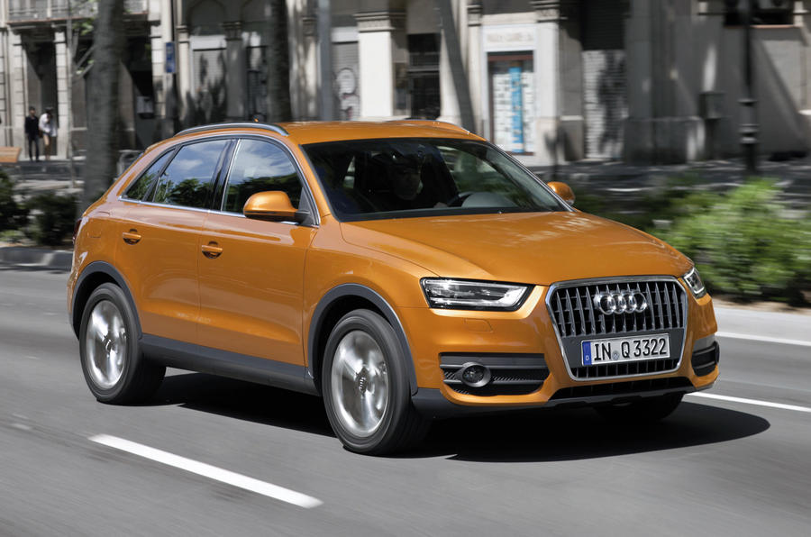 audi q3 2 0 tdi se review autocar. Black Bedroom Furniture Sets. Home Design Ideas