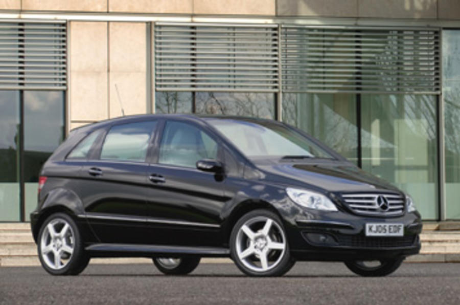 Mercedes b150 review autocar for Mercedes benz b class review