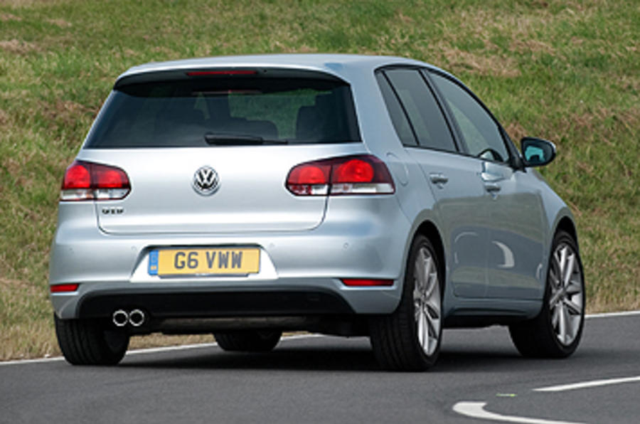 Volkswagen Golf GTD rear cornering