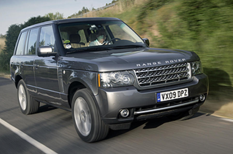 range rover 5 0 litre v8 first drive. Black Bedroom Furniture Sets. Home Design Ideas