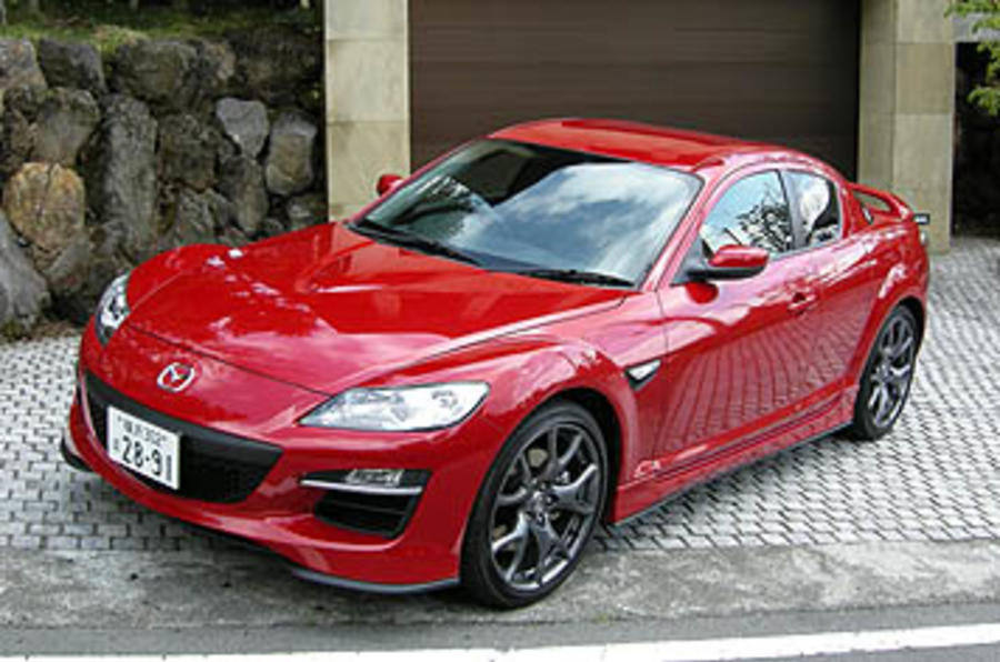 Mazda Rx 8 Type Rs First Drive Review