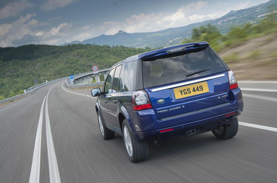 Land Rover Freelander rear