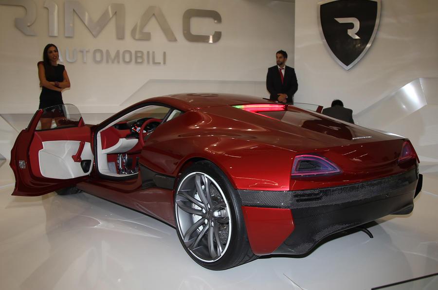 Frankfurt: 190mph Rimac Concept One
