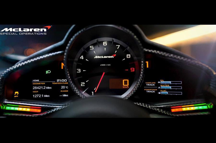 McLaren 12C MSO concept revealed