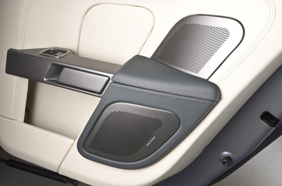 Aston Martin Rapide Bang&Olfsen stereo