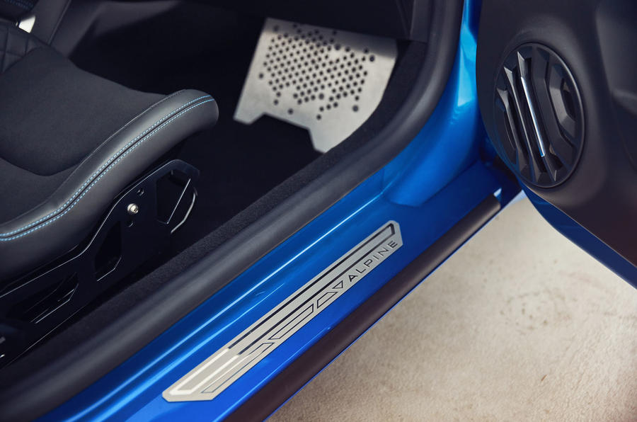Alpine A110 2018 road test review scuff plates