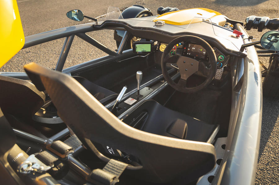 Ariel Atom 4 2019 road test review - cabin