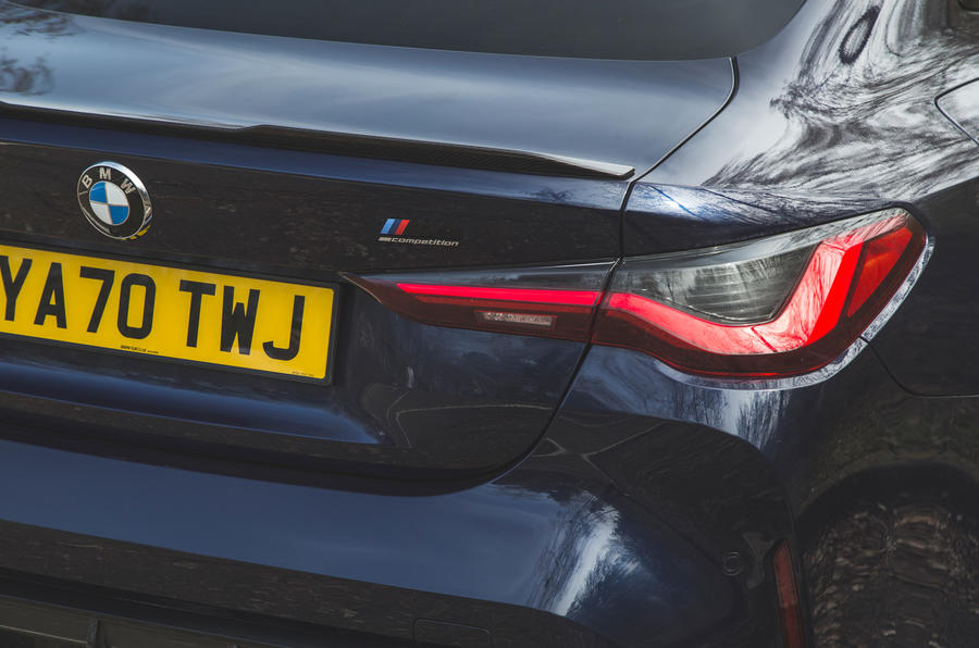 15 BMW M4 Competition 2021 RT feux arrière