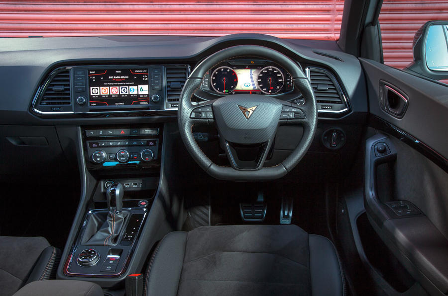 Cupra Ateca 2019 road test review - dashboard