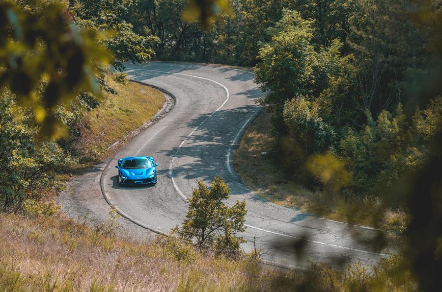Ferrari F8 Tributo 2019 road test review - Italian hills