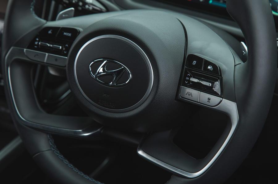 15 Hyundai Tucson 2021 : essai routier volant