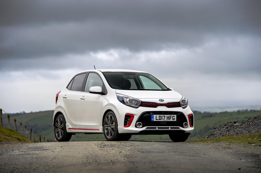 Kia Picanto review static front