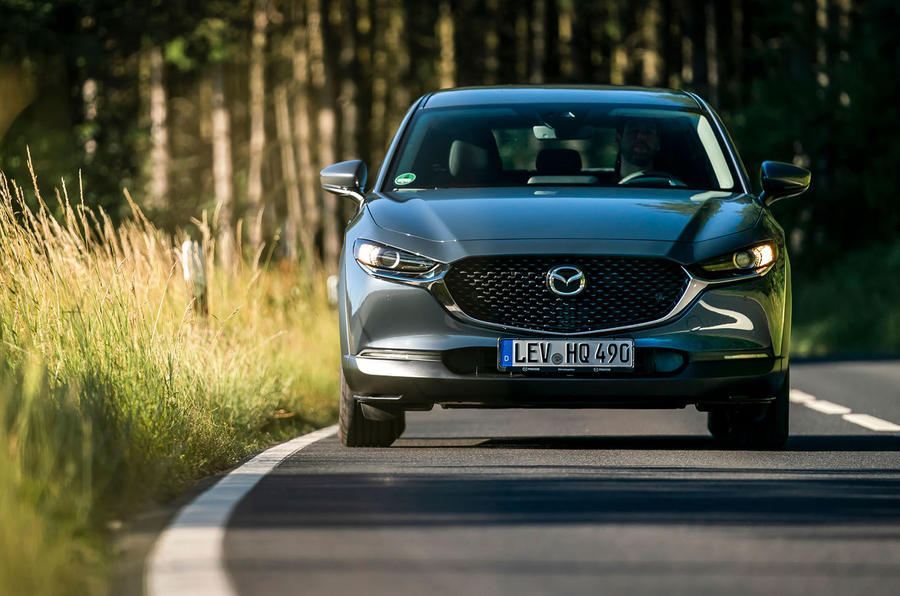Mazda CX-30 2019 road test review - on the road nose