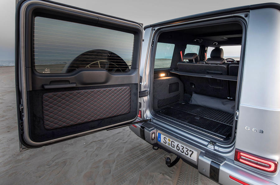 Mercedes-AMG G63 2018 review rear door