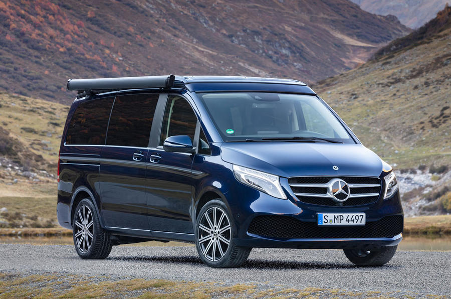 Mercedes-Benz Marco Polo 2019 road test review - static front