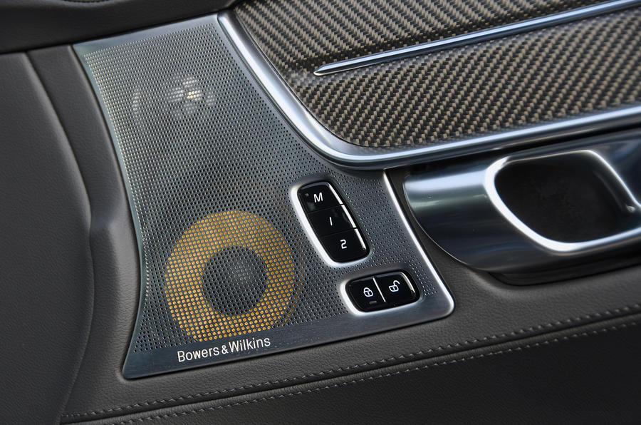 Polestar 1 2020 road test review - speakers