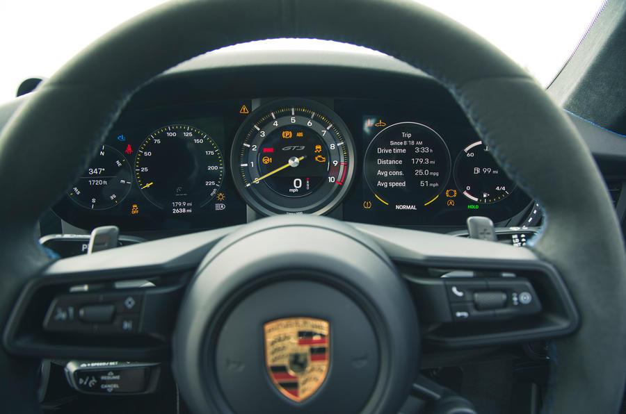 15 Cadrans de la Porsche 911 GT3 2021 RT