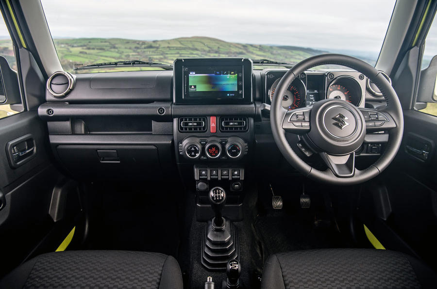Suzuki Jimny 2018 road test review - dashboard