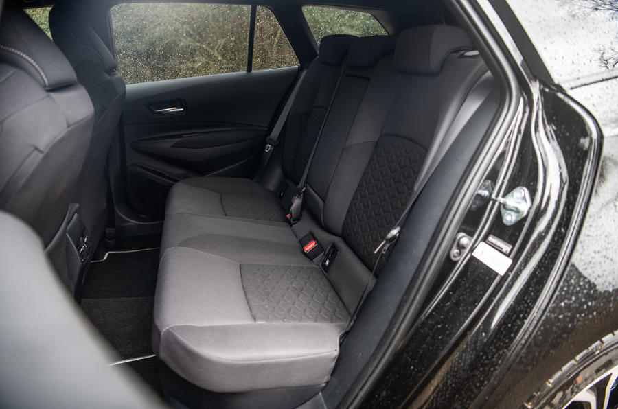 Toyota Corolla Touring Sports 2019 road test review - rear seats
