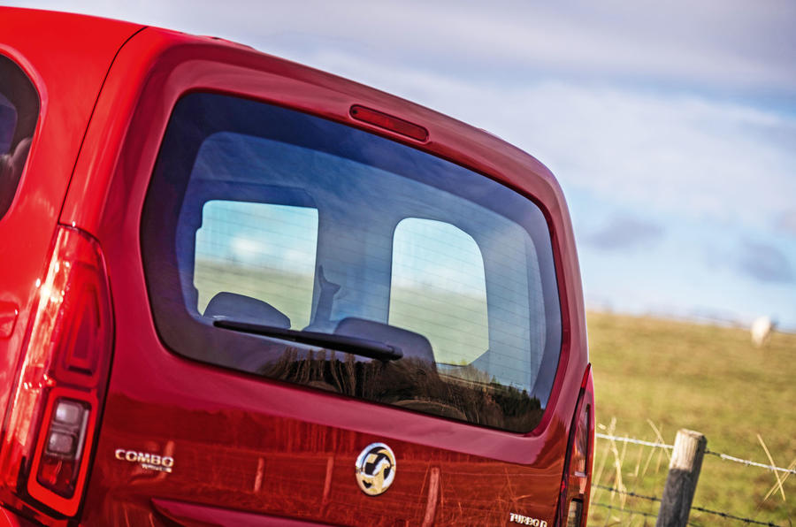 Vauxhall Combo Life 2018 road test review - rear hatch