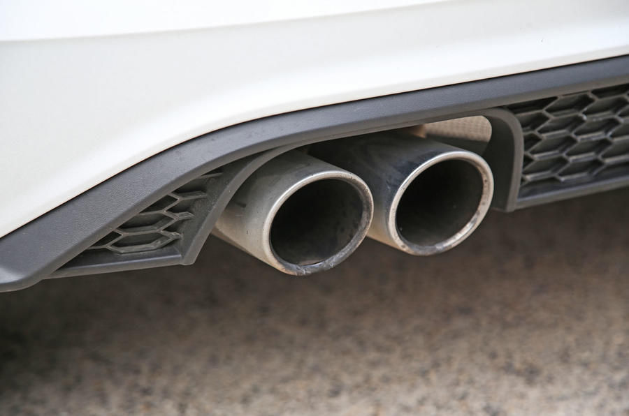 Volkswagen Polo GTI 2018 road test review exhaust