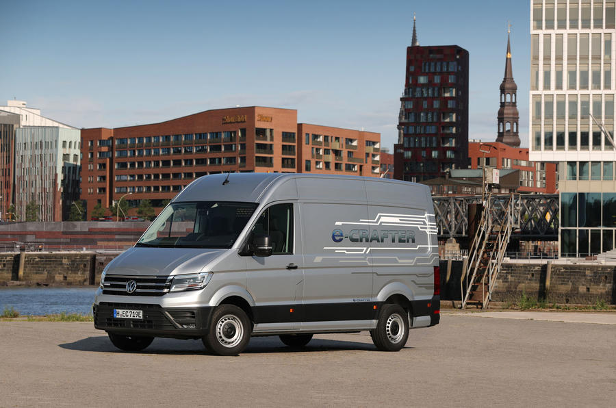 Volkswagen e-Crafter 2018 review - static front