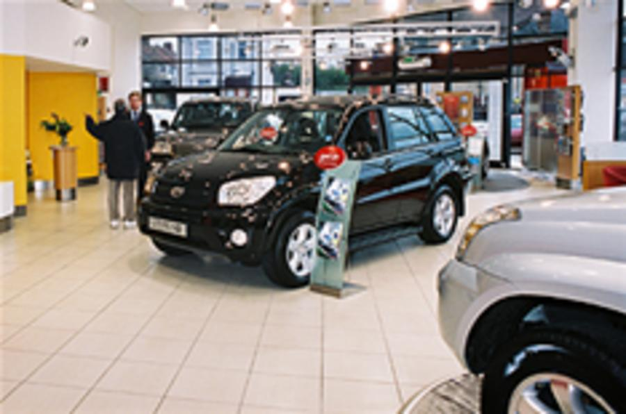 UK car sales set to fall in 2010