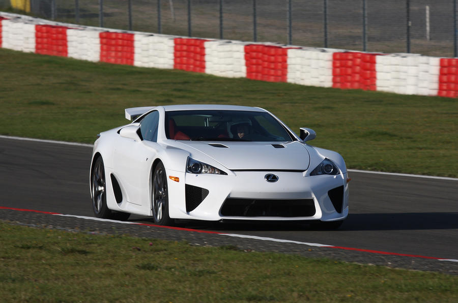 Lexus LFA on track