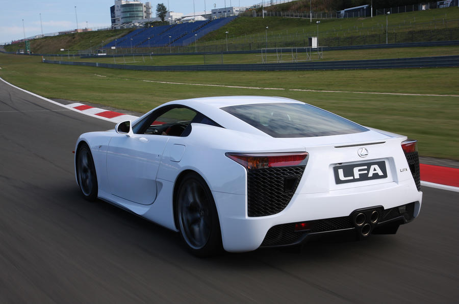 Lexus LFA supercar 4.8 V10 first drive