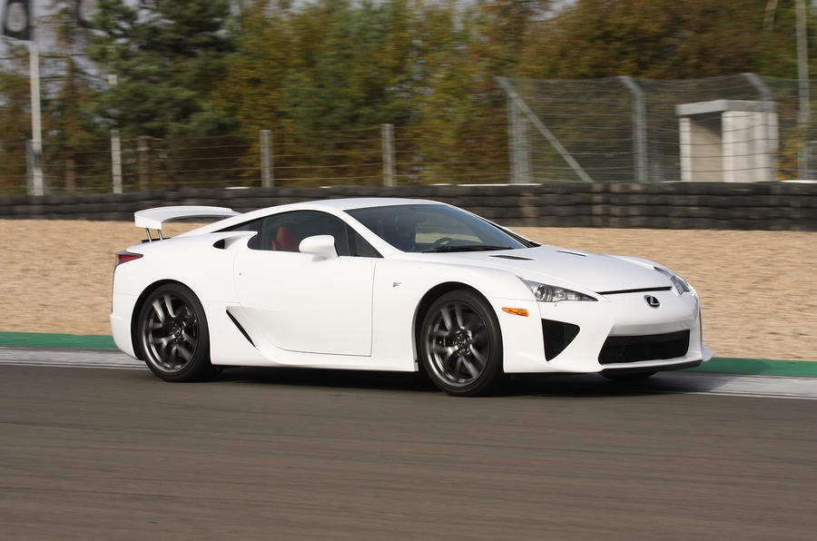 Lexus LFA side profile