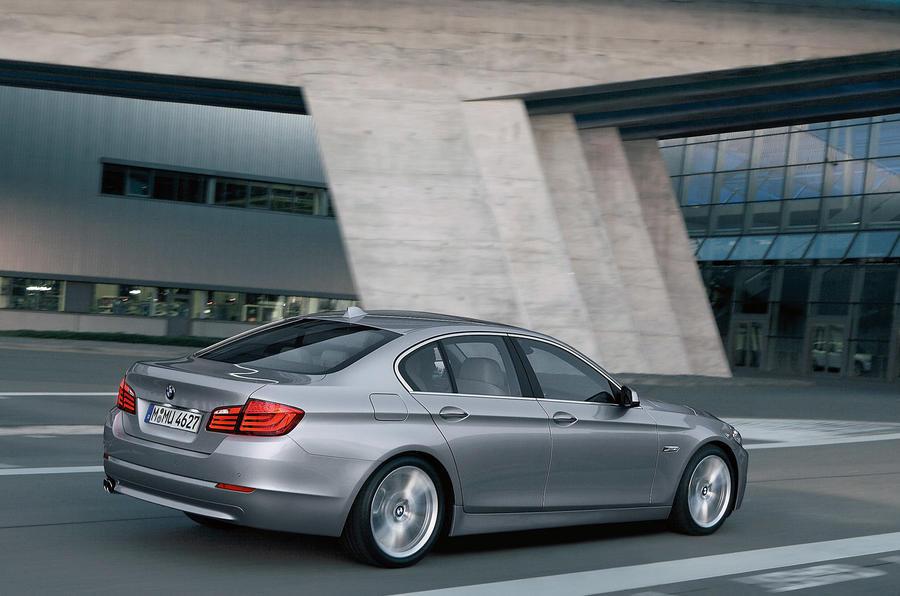 BMW 5 Series rear quarter