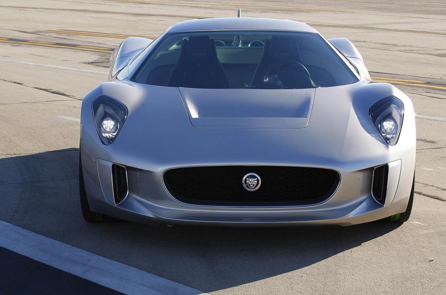 Jaguar C-X75 front quarter