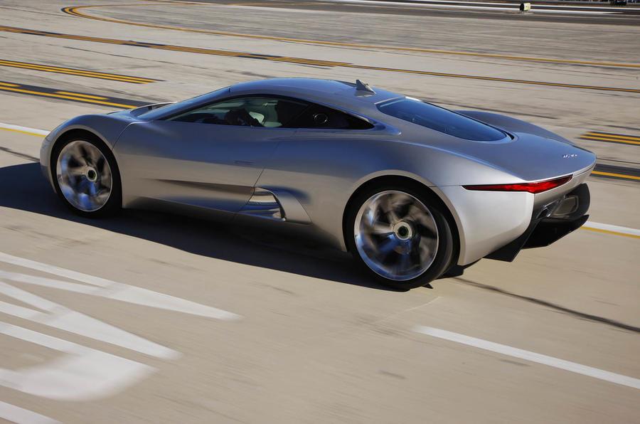Jaguar C-X75 rear quarter