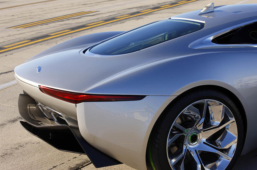 Jaguar C-X75 rear end