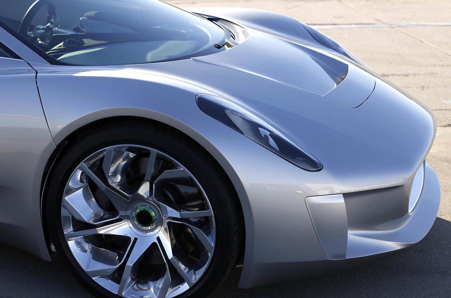 Jaguar C-X75 front end
