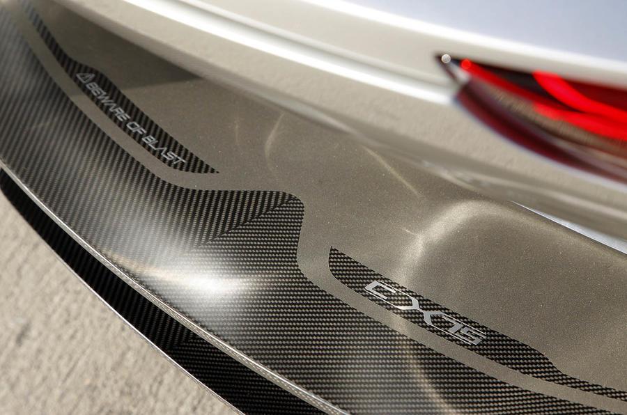 Jaguar C-X75 rear diffuser