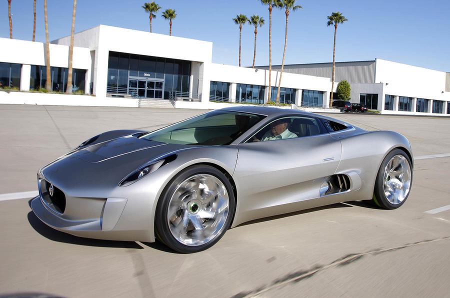 1370kg Jaguar C-X75