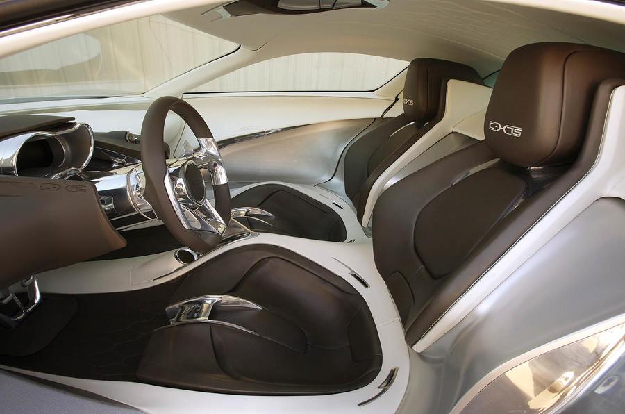 Jaguar C-X75 front seats