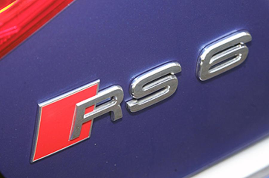 Audi RS6 saloon