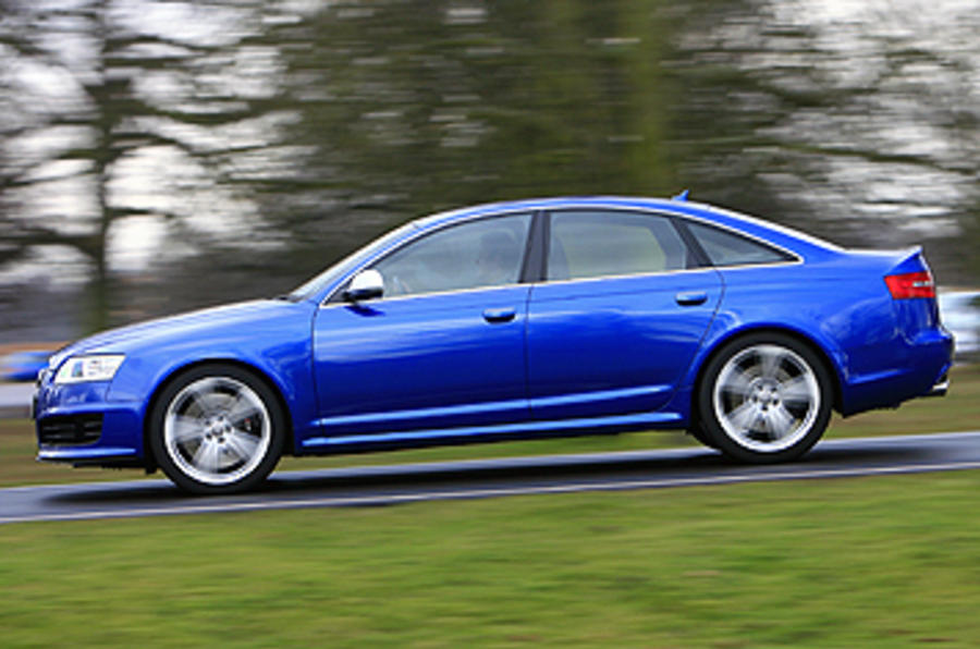 Audi RS6 saloon