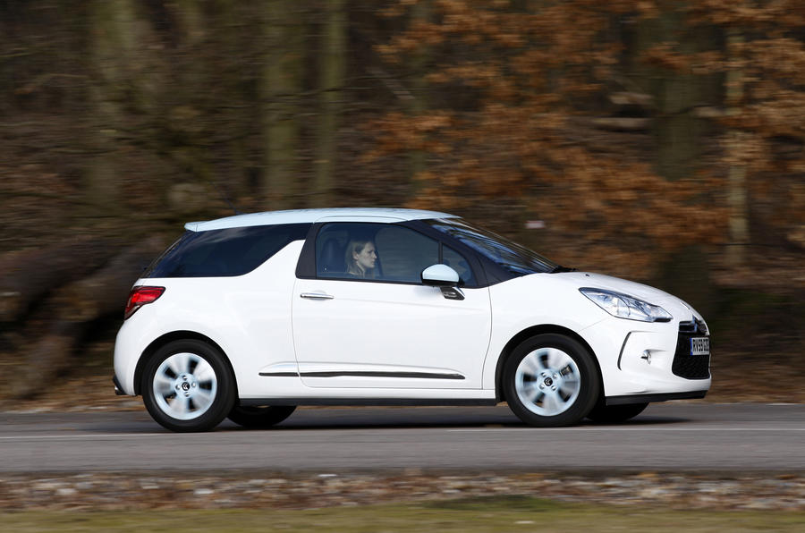 Citroen DS3 side profile