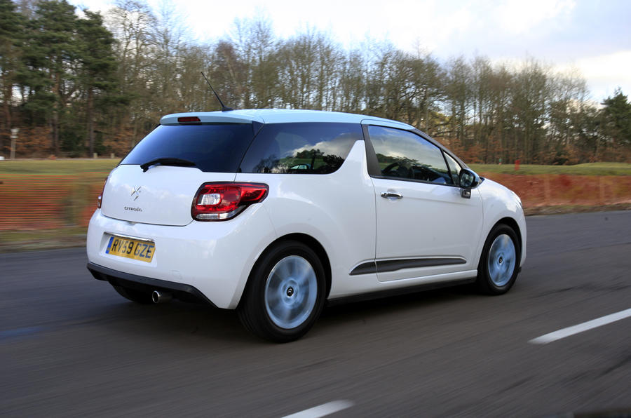 Citroen DS3 rear quarter