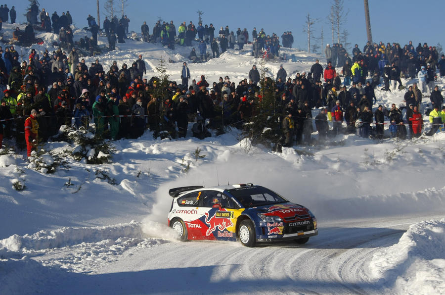 Hirvonen wins Rally Sweden