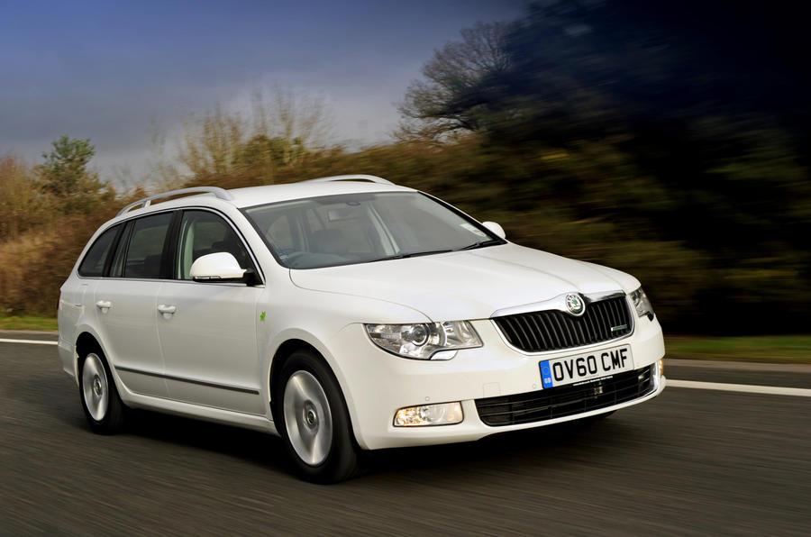 skoda superb estate greenline review autocar. Black Bedroom Furniture Sets. Home Design Ideas