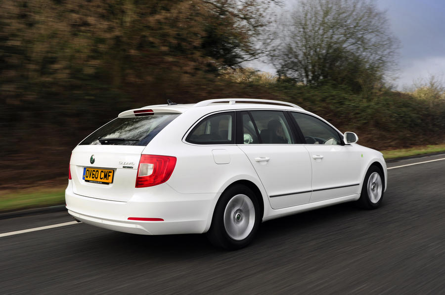 Skoda Superb estate Greenline