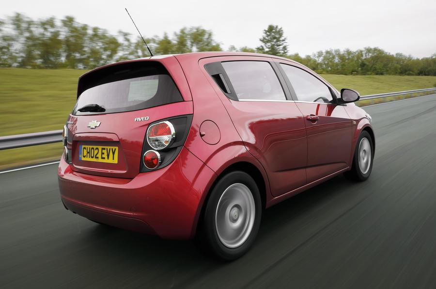 Chevrolet Aveo rear